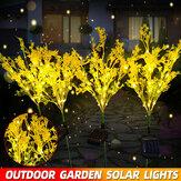 solare all'aperto LED Canola Fiori Impermeabili Luce Giardino Impermeabile lampada Decorazione per la casa