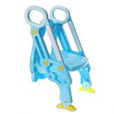 Sedile per vasino per bambini con scaletta per sgabello per sedia da toilette per bambini