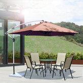 GREATT Outdoor 1.95m 6FT Patio Copertura per ombrellone 6RIB Tendalino da giardino in poliestere di ricambio