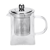 350-950ML Teapot with Infuser Leaf Herbal Jug Heat Resistant Clear Coffee