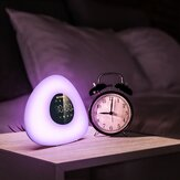 BlitzWolf? BW-LT23 Pro Wake-up Light Alarm Clock with Sunrise & Sunset Mode Touch Control RGB Dimmable Night Lamp