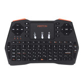 Viboton I8 Plus 2.4G Wireless Hebrew Mini Keyboard Touchpad Airmouse for TV Box Smart TV PC