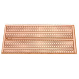 20pcs 5X10cm Single Side Copper Prototype Paper PCB Breadboard 2-3-5 Joint Hole