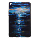 TPU Back Caso Cover Tablet Caso para Mipad 4 Plus - Sunset Version