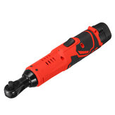 12V 4000mAh Electric Ratchet Wrench With LED Light 90° Angle Wrench Tool Lithium Battery