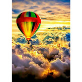 DIY Diamond Painting Handmake Diamond Embroidery Hot Air Balloon Pictures Cross Stitch Home Wall Decorations Gifts for Kids Adult