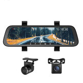 70mai Midrive D07 1080P 9.35Inch Stream Media Car DVR Dash Cam Full Screen Rearview 130FOV Mirror Recorder