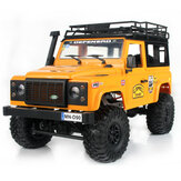MN90 1/12 2.4G 4WD Carro RC c / Frente LED Light 2 Body Shell Rack Rackler Caminhão Off-Road Toy RTR