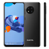 OUKITEL C19 Global Version 6,49 polegadas HD + Android 10 GO 4000mAh 13MP Câmera traseira tripla 2GB 16GB MT6737 4G Smartphone