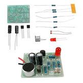 Geluids- en lichtschakelaar Kit Klapschakelaar Geluids- en lichtregeling Vertraging DIY elektronische productiekit