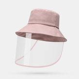 Unisex Anti-sis Şapka Koruyucu Gözlük Kovası Şapkas Koruyun
