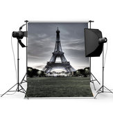 3x5FT Vinyl Menara Eiffel Latar Belakang Photo Studio Prop Fotografi backdrop