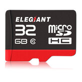 ELEGIANT 32GB Memory Card Professional Class 10 High Speed Micro SD Card for Gopro Computer Laptop PC DSLR Camera Camcorder Drone Mobile Phone