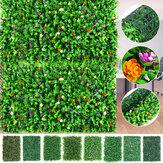 40x60 cm Yapay Çit Mat Yeşillik Bitki Duvar Çit Çim Yeşillik Paneli Süslemeleri