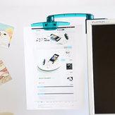 Сложенное вращение на 360 ° Дисплей Держатель для держателя документа для держателя бумаги для ПК ПК LCD
