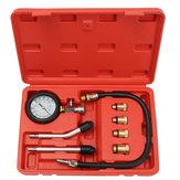Pro Benzine Gasmotorcilinder Compressie Tester Oliedrukmeter Kit Motor Auto