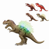 Walking Dinosaur Spinosaurus Light Up Kids Toys Figure Sounds Real Movement LED With Projection