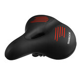 SGODDE Bike Seat Cushion Comfort Breathable Wide Bicycle Saddle for MTB Road Bike with Waterproof Cover