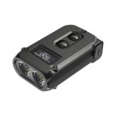 NITECORE TINI 2 P8 500LM Dual Light Mini LED Keychain Flashlight OLED Display USB Rechargeable Portable EDC Mini Torch