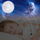 3D Printing Moon Lamp Moonlight USB Changing LED Night Light Touch APP 16 Color