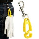 Guanto di sicurezza clip di guardia titolare custode per attaccare i guanti asciugamani occhiali caschi