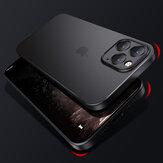 Cafele pour iPhone 12 Pro Max / 12 Mini / 12/12 Pro Etui mat ultra-mince Non jaune anti-empreintes digitales translucide PP Pro étui protecteur