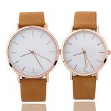 Simple Design Couple Wrist Watch