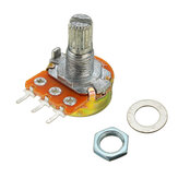 5 stuks 200V 0.2W 10K Ohm Potentiometer Single Lineair
