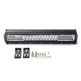 10-30V 16 Inch 432W Tri-row 7D 72 LED Work Light Bar Spot Flood Driving Combo Lamp For Offroad Jeep Truck Baot ATV UTV