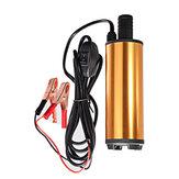 Bomba sumergible eléctrica de 12 V / 24 V CC para bombeo Oil bomba de transferencia de combustible de carcasa de acero inoxidable de agua