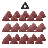 31pcs 60/80/120 Grit Sand Paper with Triangular Sand Disc for Bosch Fein Multimaster