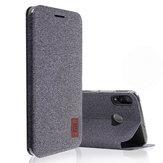 Bakeey Flip Shockproof Fabric Soft Siliconen Edge Full Body beschermhoes voor Xiaomi Mi9 SE niet-origineel