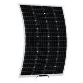 100W 18V Painel solar flexível Bateria Kit de carga de energia para RV Car Boat Camping
