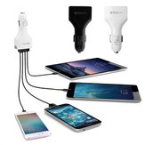Bakeey 4 USB Port QC3.0 Fast Charge USB Car Charger for Samsung Huawei