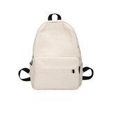 حقيبة ظهر مدرسية طراز 35L كبيرة سعة أزياء بسيطة في الهواء الطلق حقيبة كمبيوتر محمول للسفر لمدة 15.6 بوصة تحت الكمبيوتر المحمول