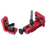 Tope de riel de inglete con ranura en T fijo 30/45 Carpintería manual DIY herramientas