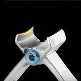 YFM® ZJQ-1 Çift kıvrım Tırnak Clipper Parmak Ayak Tırnaklarını Kesici