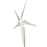300W 12/24V 3/5 Blades Wind Turbine Generator Windmill With Charge Controller With Controller