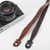 Alça de ombro de couro da câmera para Leica SLR DSLR Mirrorless