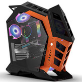 DarkFlash Knight-1 Computer Case ATX/M-ATX/ITX Supported Mid Tower With Tempered Glass