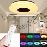 36 CM / 40 CM 36W Inteligentne oświetlenie sufitowe LED bluetooth Możliwość przyciemniania aplikacji muzycznej RGB Lampa do sypialni z pilotem