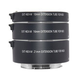 Mcoplus EXT-NEX 10mm 16mm 21mm E-Mount Metalen Autofocus Macro Extension Tube Ring voor Sony A7 A7II A7III A7SII A6000 A6300 A6500 NEX 5 Mirrorless Camera Adapter Ring