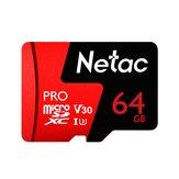 Netac P500 Pro V30 UHS-I U3 100 MB / s Mikro SD Kart TF Hafıza Kartı 64GB 128 GB 256 GB