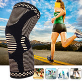 KALOAD 1PC Copper Infused Knee Pad Outdoor Sports Hiking Bike Basketball Knee Support Leg Joint Sleeve Fitness Protective Gear
