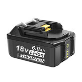18V 3.0Ah-6.0Ah Battery Replacement for Makita 18V BL1830 BL1840 BL1850 BL1860 BL1835 194205-3 194309-1 LXT-400 Cordless Battery Power Tool Battery