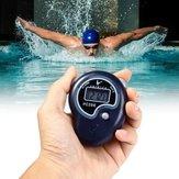 Ручная5-значнаяодинарнаястрока2Воспоминания LCD Цифровой секундомер со свистом