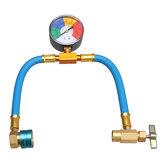 R-1234yf Servicio de aire acondicionado Manguera & 100PSI Acoplador de recarga Recarga Latas de refrigerante Taper