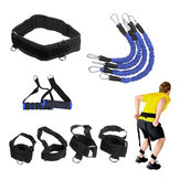 200LBS High Strength Heavy Exercise Boxing Resistance Bands Training Strap System For Boxing Equipment