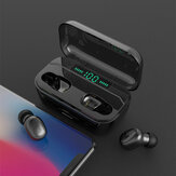 G6S Dual bluetooth 5.0 TWS Earphone LED Digital Display IPX7 Deep Waterproof Binaural Call Headset With 3500mAh Power Bank