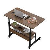 Wielofunkcyjny ruchomy stolik nocny na laptopa Drewniany stolik na komputer Stolik na komputer Stojak na komputer